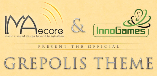 IMAscore & InnoGames present the official GREPOLIS THEME